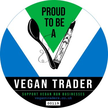 We are a vegan-owned business